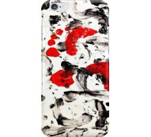 Colorful Abstract Painting Original Art Titled: The Road Not Taken iPhone Case/Skin