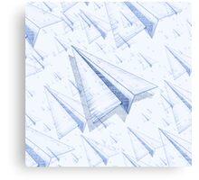 Paper Airplane 100 Canvas Print
