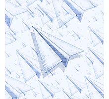 Paper Airplane 100 Photographic Print