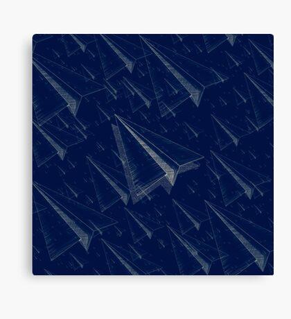 Paper Airplane 101 Canvas Print