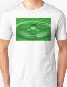 Green Water Drop T-Shirt