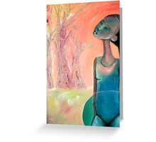 Dreamscape 1 (Sometimes, I hear the forrest whispering...) Greeting Card