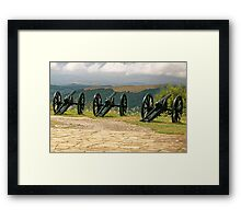 Guns and Flowers, Shipka, Bulgaria Framed Print