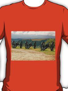 Guns and Flowers, Shipka, Bulgaria T-Shirt