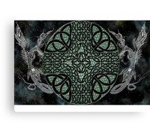 Celestial Dragons Canvas Print
