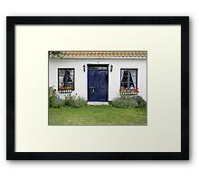 Two Windows and a Door Framed Print