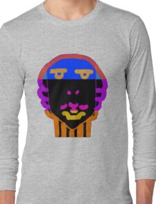 vivid face Long Sleeve T-Shirt