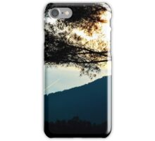 sunrise in the great smoky mountains iPhone Case/Skin