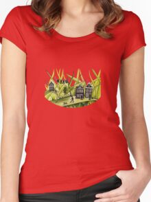 THE GREEN GRASS OF HOME #1 Women's Fitted Scoop T-Shirt