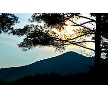 sunrise in the great smoky mountains Photographic Print