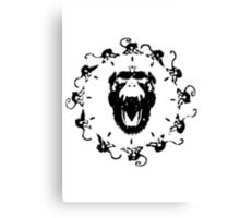 Army of the Twelve monkeys Canvas Print