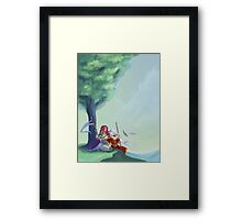 Warrior and Wizard Homecoming Framed Print