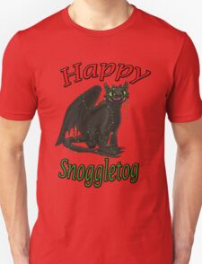 Toothless - Happy Snoggletog Unisex T-Shirt