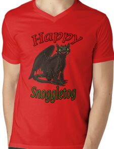 Toothless - Happy Snoggletog Mens V-Neck T-Shirt