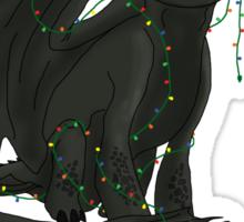 Toothless - Happy Snoggletog Sticker
