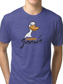 Happy Goose Tri-blend T-Shirt