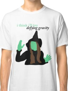 Elphaba Wicked: Defying Gravity Classic T-Shirt