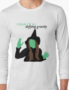 Elphaba Wicked: Defying Gravity Long Sleeve T-Shirt
