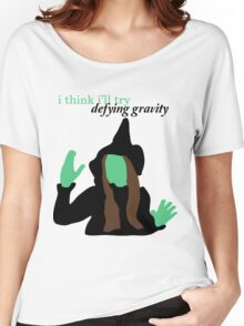 Elphaba Wicked: Defying Gravity Women's Relaxed Fit T-Shirt