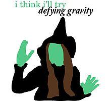 Elphaba Wicked: Defying Gravity Photographic Print