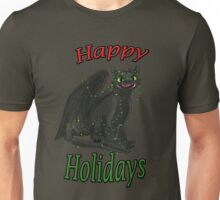 Toothless - Happy Holidays Unisex T-Shirt