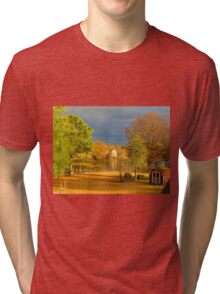 Early Afternoon Along the Creek  (1502026092VA) Tri-blend T-Shirt
