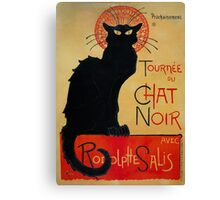 'Tournee du Chat Noir' by Theophile Steinlen (Reproduction) Canvas Print