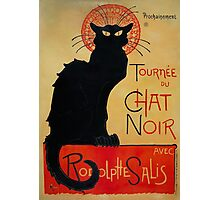'Tournee du Chat Noir' by Theophile Steinlen (Reproduction) Photographic Print