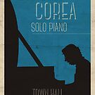 Chick Corea Poster by Keith Henry Brown