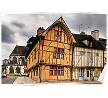 House of the Dauphin Troyes France Poster