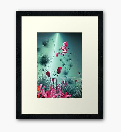 seahorse 2 Framed Print