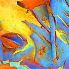 Summer Eucalyt Abstract 29  by Margaret Saheed