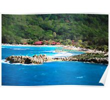 Adrenaline Beach - Cezanne II Poster