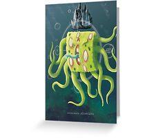 SpongeGod ElderPants Greeting Card