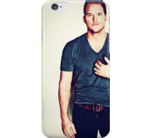 Chris Prat The Man iPhone Case/Skin