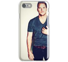 Chris Prat The Man iPhone Case/Skin