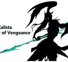 Kalista The Spear of Vengeance by xRosex