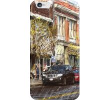 federal hill baltimore iPhone Case/Skin