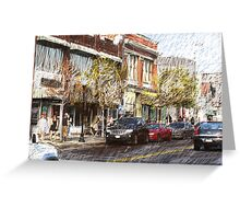 federal hill baltimore Greeting Card