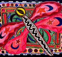 Dragonfly Magic Mythic Animal  by susandetroy