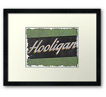 Irish Hooligan Framed Print