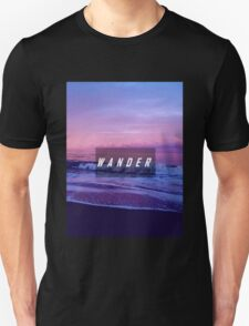 The Wanderlust Is Real  Unisex T-Shirt
