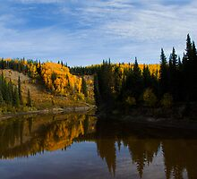 The Beatton River by peaceofthenorth