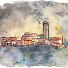 Venice Watercolor by Haleymoon