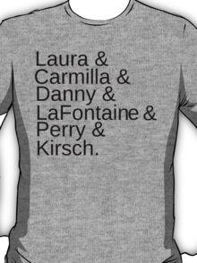 Carmilla Characters T-Shirt