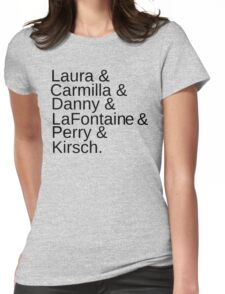 Carmilla Characters Womens Fitted T-Shirt