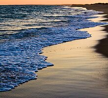Sunset At South Beach by phil decocco