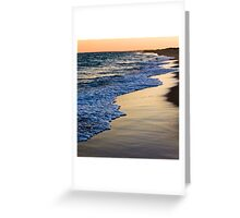 Sunset At South Beach Greeting Card