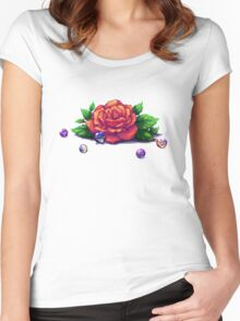 Remember the Roses and Marbles Women's Fitted Scoop T-Shirt