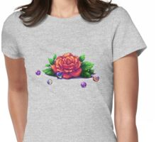 Remember the Roses and Marbles Womens Fitted T-Shirt